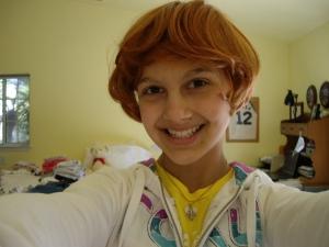 My redhead look