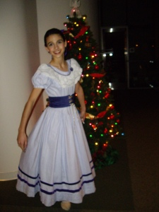 I was Marie in the Civic Ballet of San Luis Obispo's Nutcracker in December 2008.