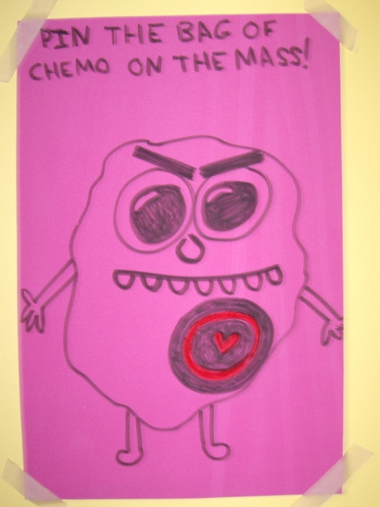 Pin The Bag of Chemo on the Mass