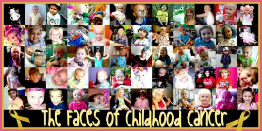 the faces of childhood cancer