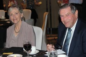 Gramma & Poppy, always supportive, were at Wish Night!