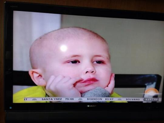 Six Year-Old Joseph Maroney one the Today Show 4 -9 -2014