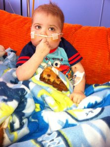 Please keep Neuroblastoma Warrior Bryson in your thoughts and prayers! ~Suzanne Shelpman