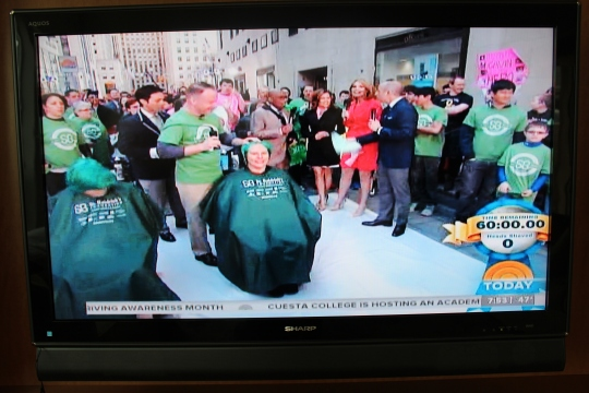 St. Baldricks Record Today Show Shave 003